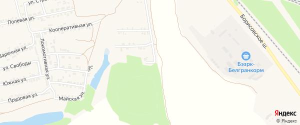 Дальняя улица на карте Пролетарского поселка с номерами домов
