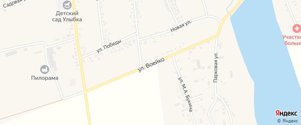 Улица Воейко на карте села Головчино с номерами домов