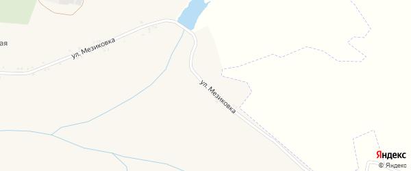 Улица Мезиковка на карте Солдатского села с номерами домов