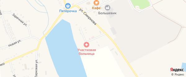 Переулок Смирнова на карте села Головчино с номерами домов