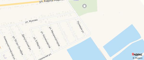 Улица Майора Журавлева на карте села Головчино с номерами домов