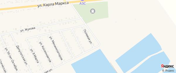 Полевая улица на карте села Головчино с номерами домов