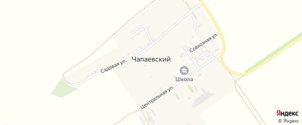 Цветочная улица на карте Чапаевского поселка с номерами домов