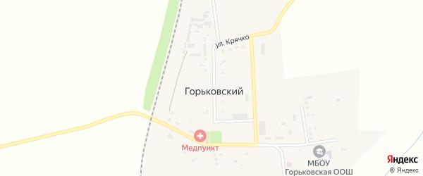 Улица М.И.Крячко на карте Горьковского поселка с номерами домов