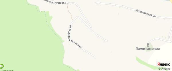 Центральная улица на карте села Акулиновки с номерами домов