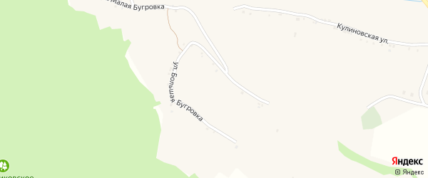 Хуторская улица на карте села Акулиновки с номерами домов