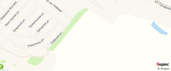 Улица Энергетиков на карте Пролетарского поселка с номерами домов