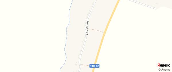 Улица Ленина на карте села Березовки с номерами домов