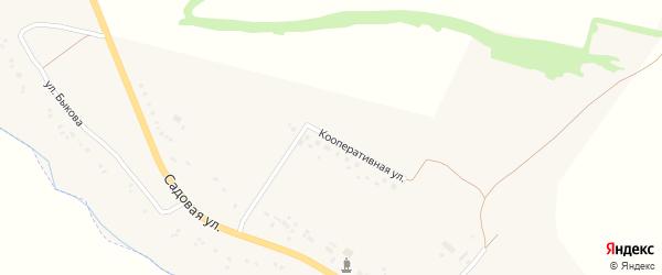 Кооперативная улица на карте села Березовки с номерами домов