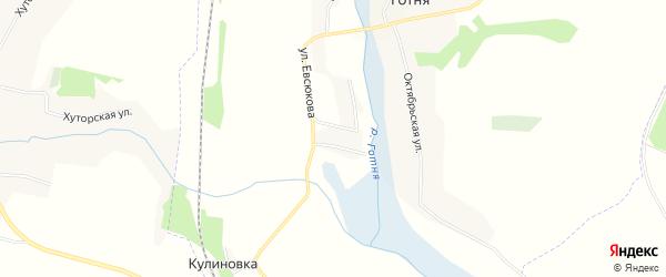 Карта хутора Федосейкина в Белгородской области с улицами и номерами домов