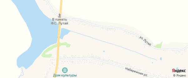 Молодежный переулок на карте села Березовки с номерами домов