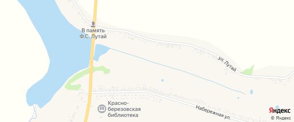 Улица Лутай на карте села Березовки с номерами домов