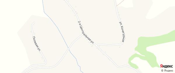 Центральная 2-я улица на карте села Введенской Готни с номерами домов