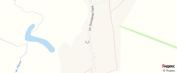 Улица Холодная Гора на карте села Хомутцы с номерами домов