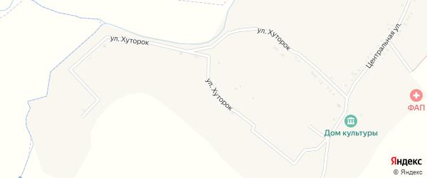 Улица Хуторок на карте Псковского села с номерами домов
