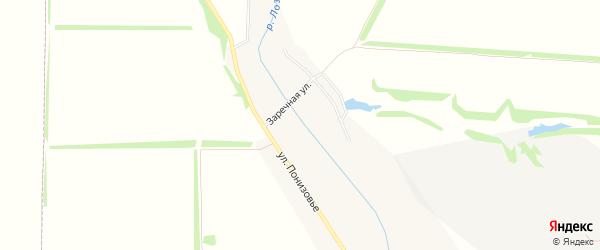 Карта Грузского села в Белгородской области с улицами и номерами домов