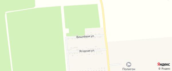Вишневая улица на карте поселка Борисовки с номерами домов