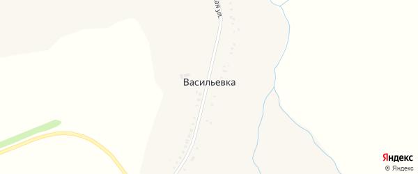 Садовая улица на карте села Васильевки с номерами домов