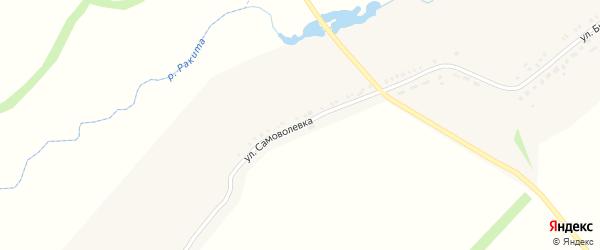 Улица Самоволевка на карте села Венгеровки с номерами домов