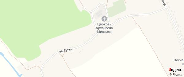 Улица Ручьи на карте Песчаного села с номерами домов