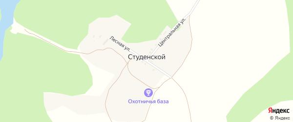 Переулок Им декабриста Пестеля П.И. на карте Белгорода с номерами домов