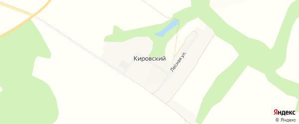 Карта Кировского поселка в Белгородской области с улицами и номерами домов