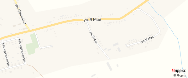Луговая улица на карте села Серетино с номерами домов