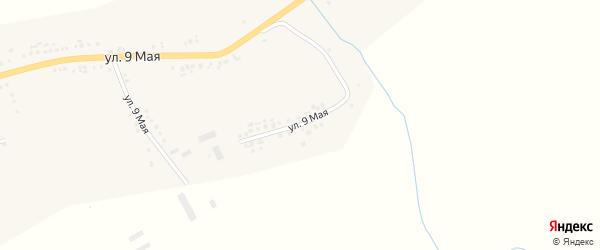 9 Мая улица на карте села Серетино с номерами домов