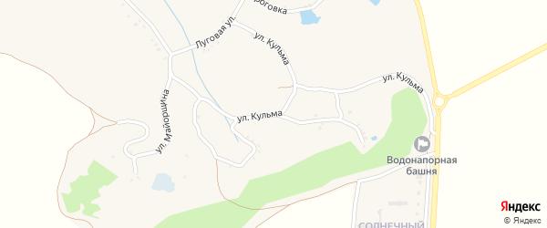 Улица Майорщина на карте Черкасского села с номерами домов