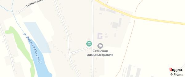 Молодежная улица на карте села Щетиновки с номерами домов