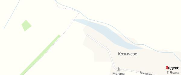 Улица Ленина на карте села Козычево с номерами домов