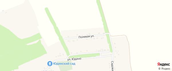 Полевая улица на карте села Вознесеновки с номерами домов