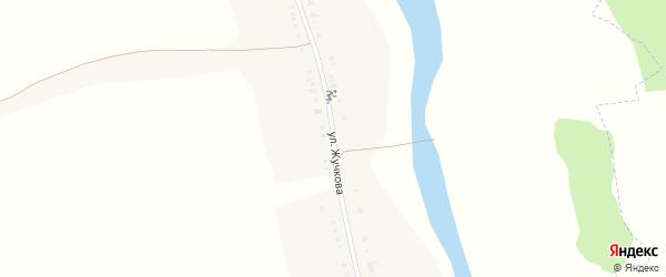 Улица Жучкова на карте села Курасовки с номерами домов