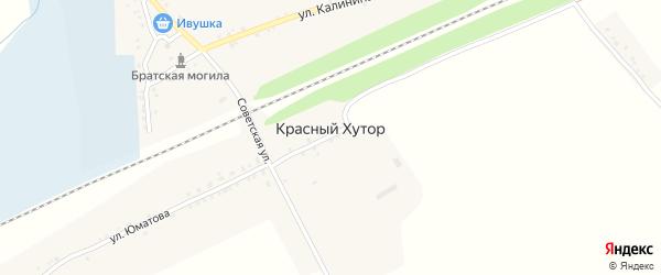 Яблоневая улица на карте Красного села с номерами домов