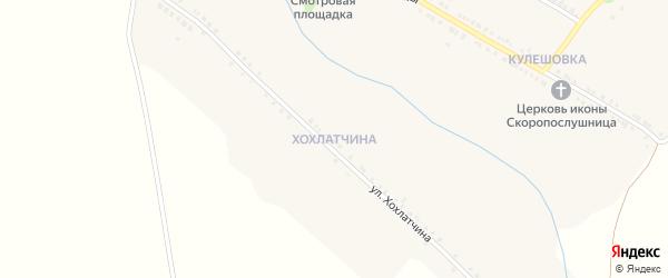 Улица Хохлатчина на карте села Владимировки с номерами домов