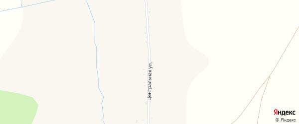 Центральная улица на карте Драгунского села с номерами домов