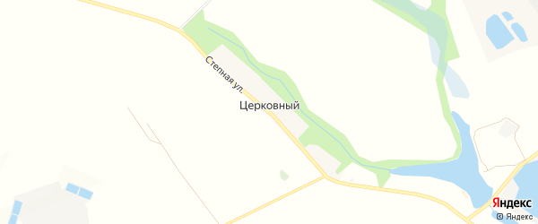 СТ Сахарник-92 на карте Церковного хутора с номерами домов