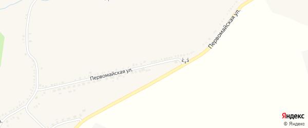 Первомайская улица на карте Стрелецкого села с номерами домов