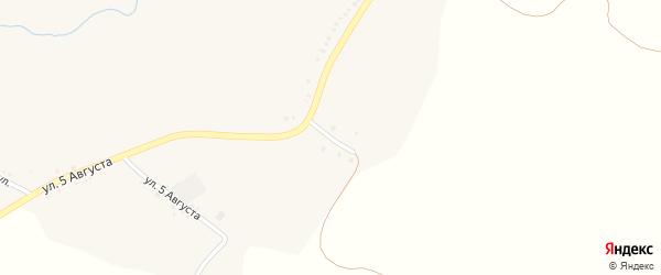 Степной переулок на карте Стрелецкого села с номерами домов