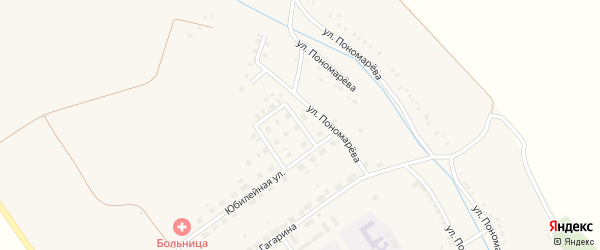 Улица 8 Марта на карте села Красного Октября с номерами домов