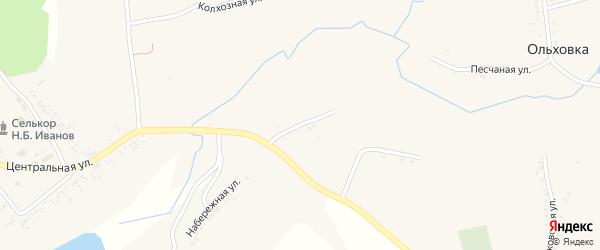 Привольная улица на карте села Дмитриевки с номерами домов