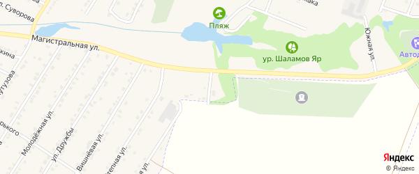 Улица Жукова на карте Октябрьского поселка с номерами домов