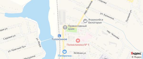 Улица Гагарина на карте Северного поселка с номерами домов