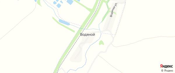 Карта Водяного хутора в Белгородской области с улицами и номерами домов