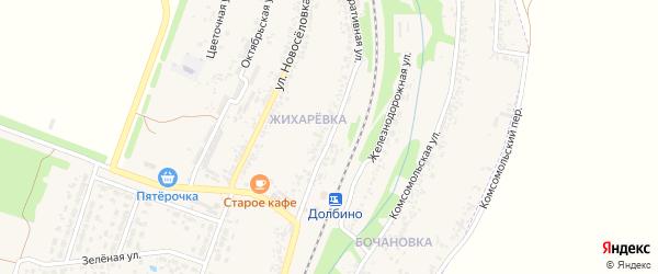 Кооперативная улица на карте села Веселой Лопани с номерами домов
