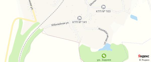 Юбилейная улица на карте села Долбино с номерами домов