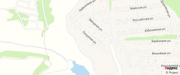 Архангельская улица на карте Белгорода с номерами домов