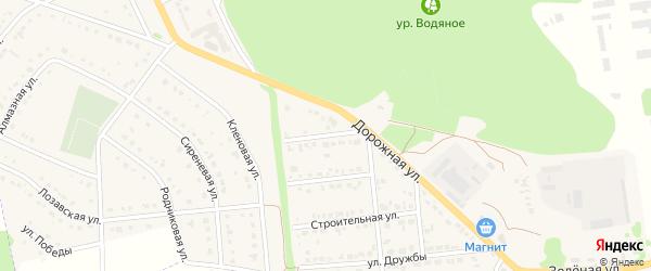 Полевая улица на карте Комсомольского поселка с номерами домов