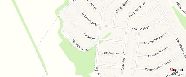 Новая улица на карте Стрелецкого села с номерами домов