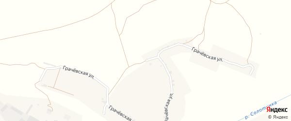 Улица Грачевка на карте села Кочетовка с номерами домов
